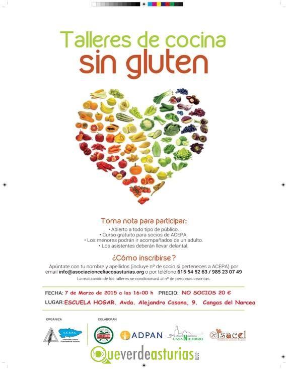 Talleres de cocina sin gluten cursos y charlas en cangas - Cursos cocina asturias ...