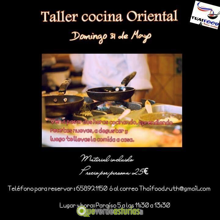 Taller de cocina oriental cursos y charlas en oviedo - Cursos cocina asturias ...