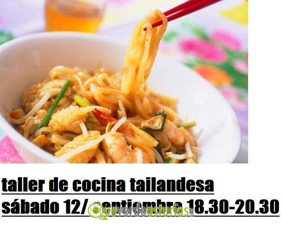 Taller De Cocina Tailandesa Cursos Y Charlas En Oviedo