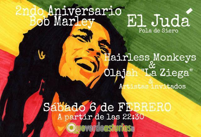 Aniversario de bob marley en el jud conciertos y m sica - El tiempo en siero asturias ...