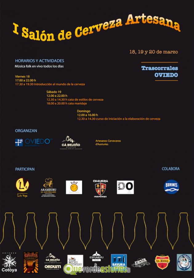 I sal n de la cerveza artesana oviedo 2016 jornadas for Salon de la photo 2016