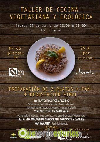 Taller de cocina vegetariana y ecolgica en el llacn - Cursos cocina asturias ...