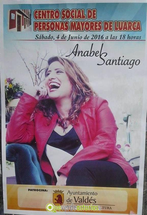 Anabel santiago en concierto en luarca conciertos y for Concierto hoy en santiago