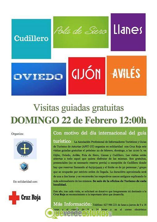 Visita guiada gijn otros eventos en gijn xixn asturias for Oficina de turismo oviedo