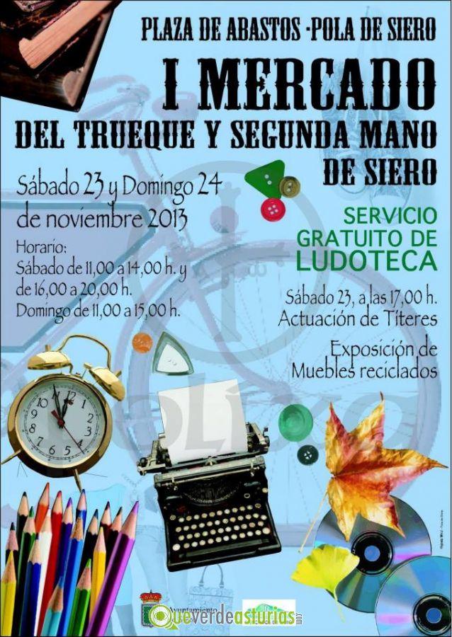 Imagen del cartel del I Mercado del Trueque