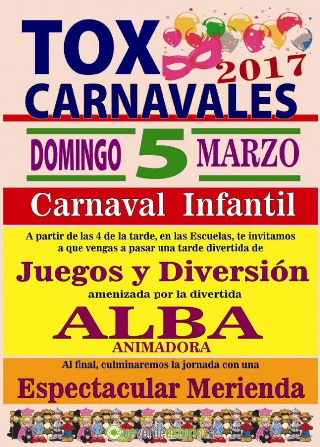 Carnaval infantil 2017 en tox actividades infantiles en - Carnaval asturias 2017 ...