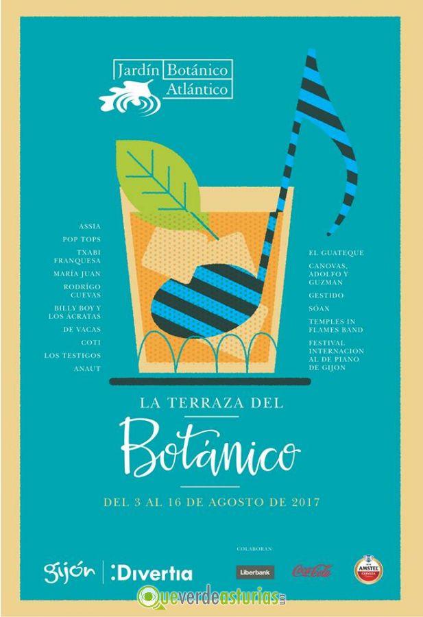 Anaut en la terraza del bot nico 2017 conciertos y for Conciertos jardin botanico 2017