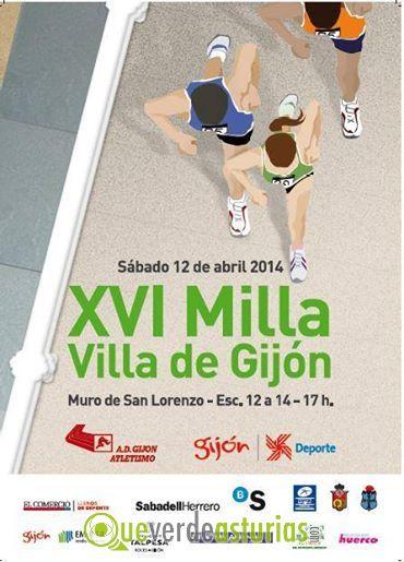 Xvi Milla Villa De Gij N 2014 Atletismo En Gij N Xix N
