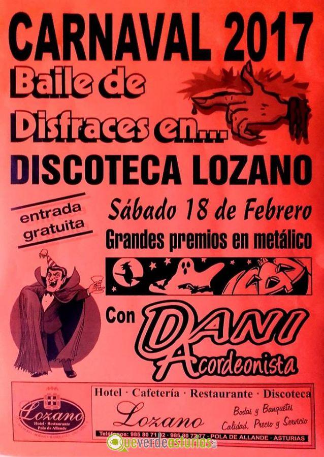 Baile de carnaval 2017 en discoteca lozano fiestas en - Carnaval asturias 2017 ...