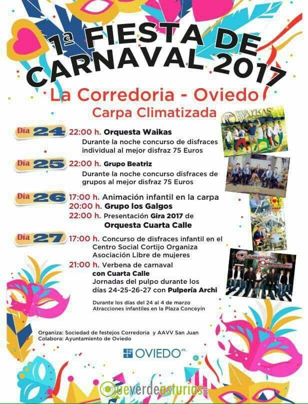 Carnaval 2017 en la corredoria fiestas en oviedo uvi u - Carnaval asturias 2017 ...