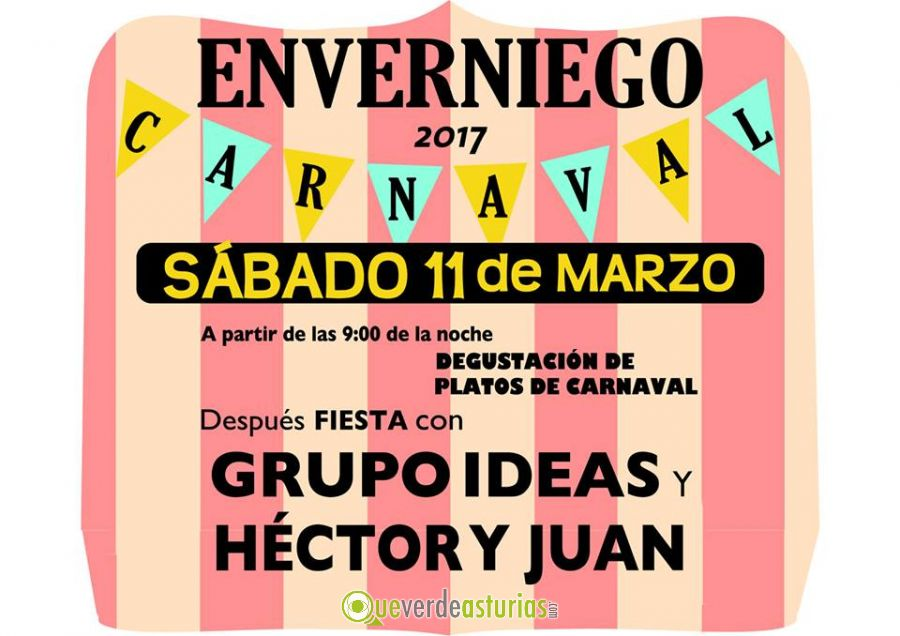 Carnaval enverniego 2017 fiestas en vald s asturias - Carnaval asturias 2017 ...