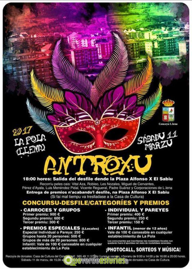 Carnaval 2017 en pola de lena fiestas en lena llena - Carnaval asturias 2017 ...