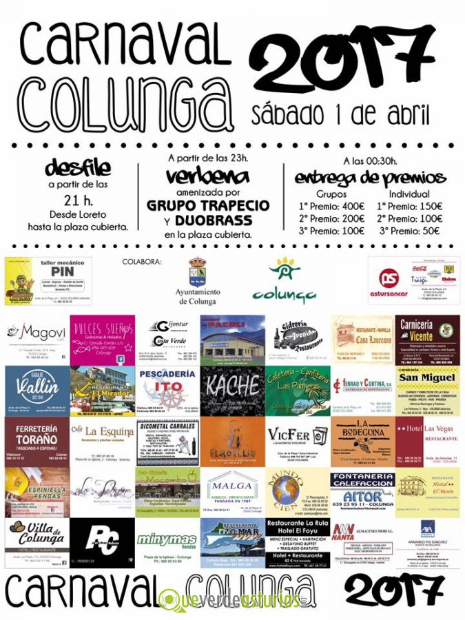 Carnaval 2017 en colunga fiestas en colunga asturias - Carnaval asturias 2017 ...