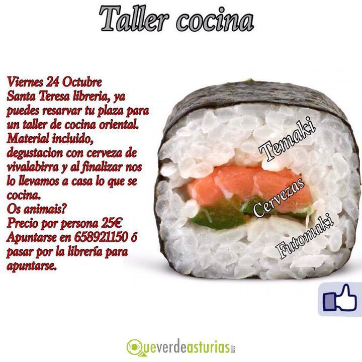 Taller de cocina oriental cursos y charlas en oviedo - Cursos de cocina en oviedo ...