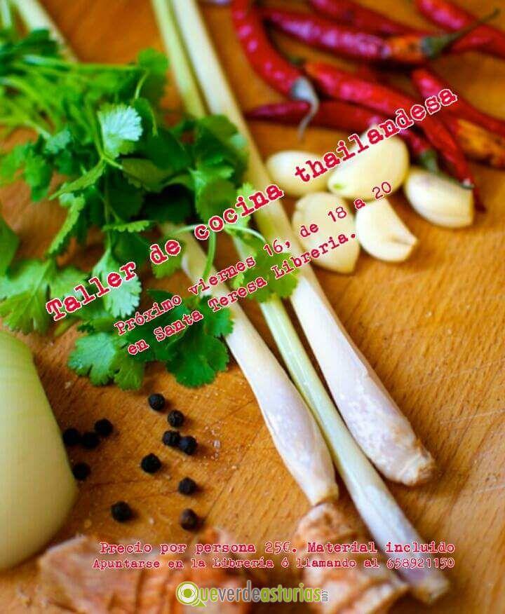 Taller de comida tailandesa cursos y charlas en oviedo - Cursos cocina asturias ...