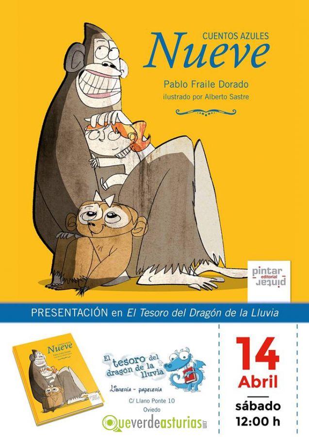 Cuentacuentos presentaci n del libro nueve cuentos azules for Actividades para jardin infantil