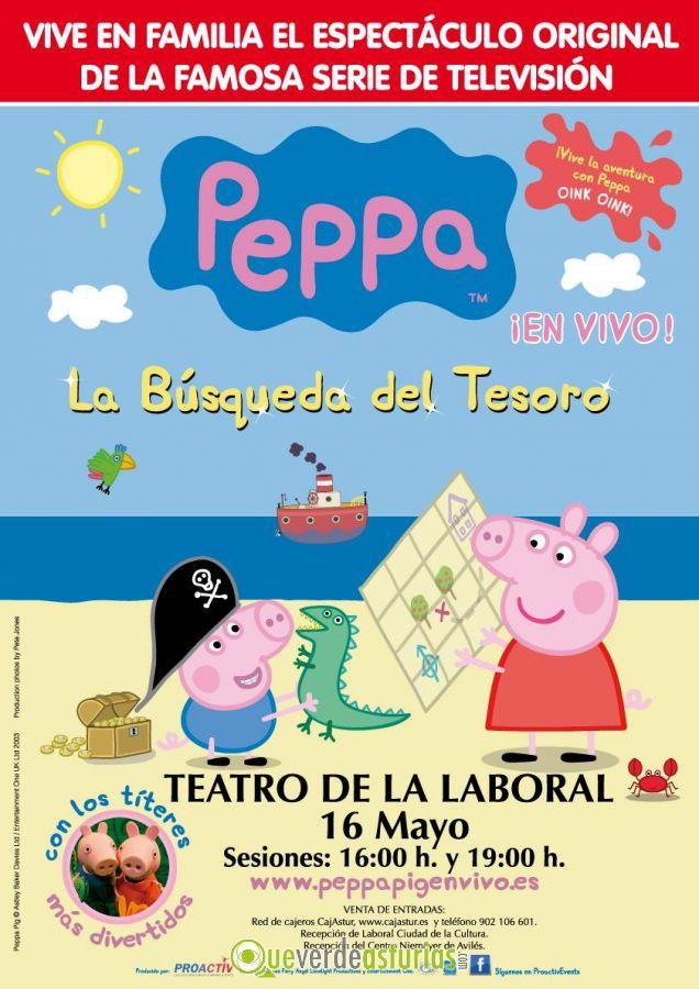 Peppa pig en el teatro de la laboral actividades for Teatro de la laboral