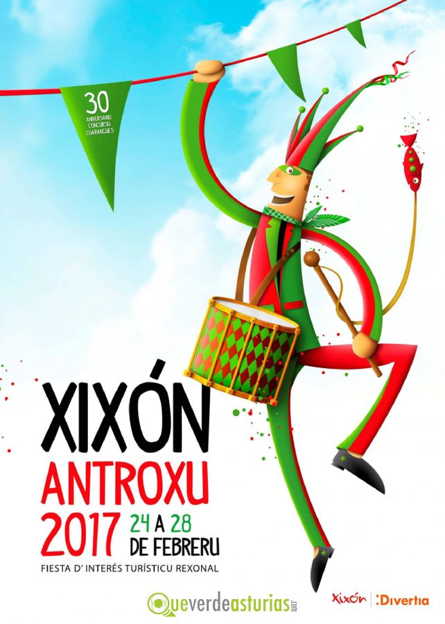 Antroxu gij n 2017 fiestas en gij n xix n asturias - Carnaval asturias 2017 ...