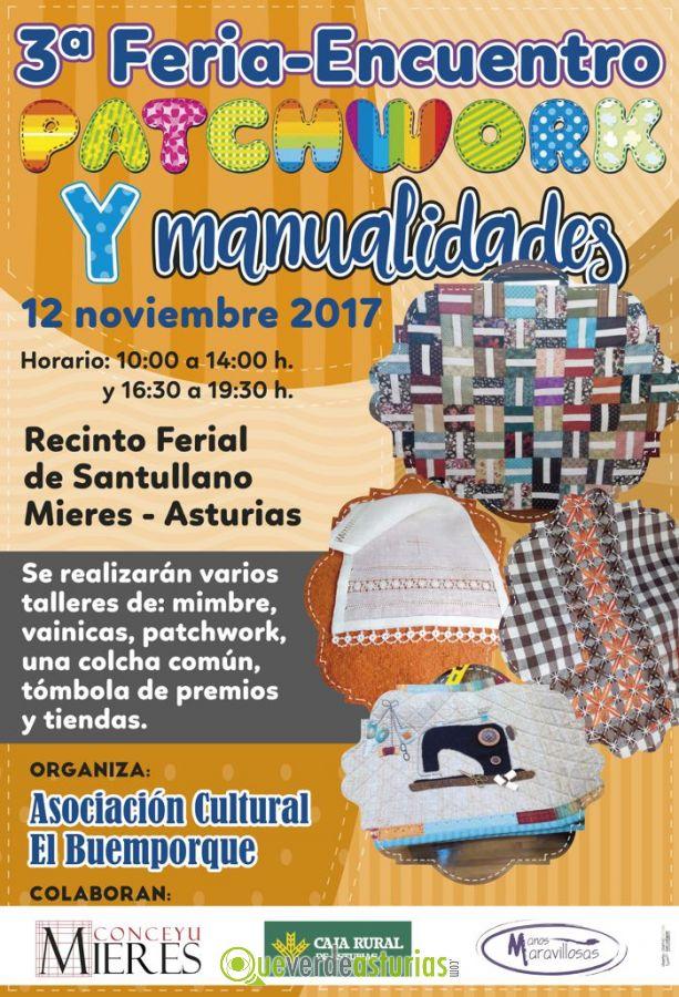 3 feria encuentro patchwork y manualidades 2017 en - Feria de manualidades en barcelona ...