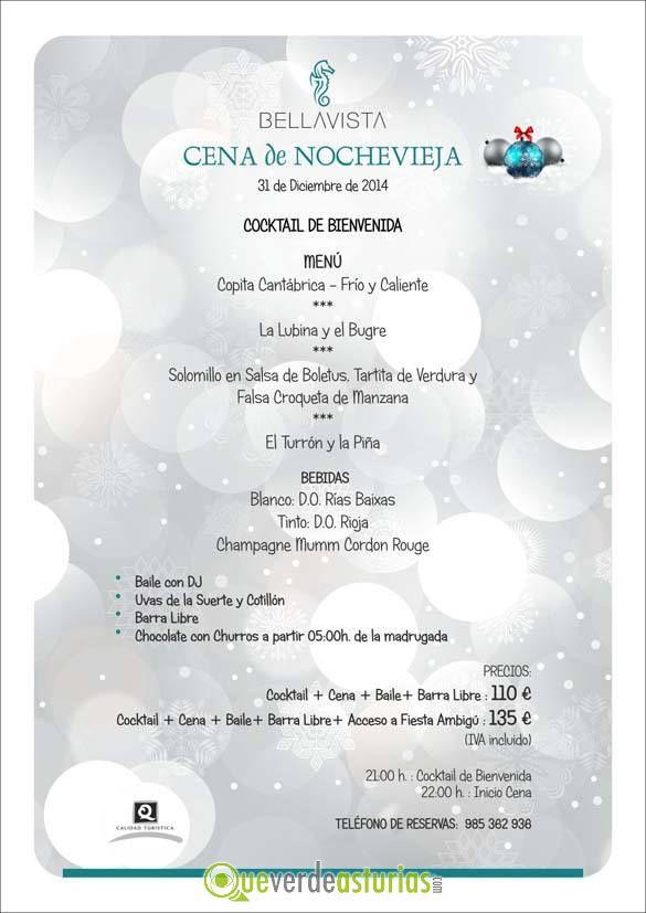 Cena de nochevieja bellavista 2014 jornadas gastronmicas - Menu cena de nochevieja ...