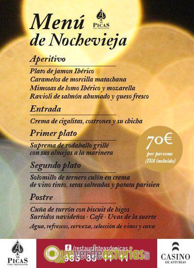 Men de nochevieja 2014 en el casino de asturias jornadas - Menu cena de nochevieja ...