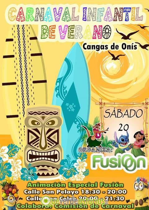 Carnaval infantil de verano cangas de ons 2016 for Jardin infantil verano 2016