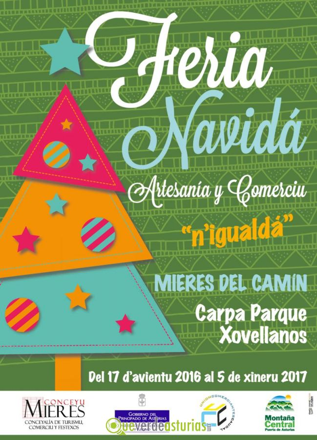 Feria de navidad artesan a y comercio mieres 2016 ferias for Feria de artesanias 2016
