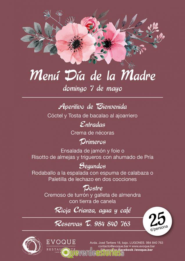 Menu D 237 A De La Madre 2017 Evoque Jornadas Gastron 243 Micas