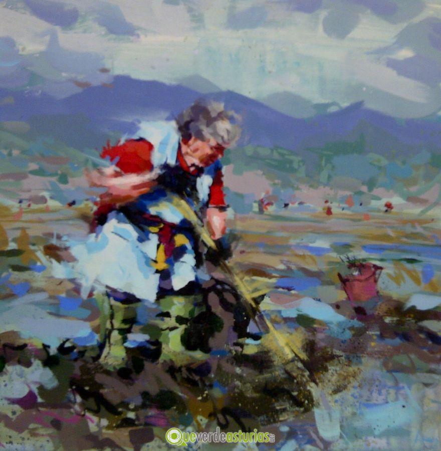 Exposicin j borrell c sempere j soler y samuel armas - Pintores en asturias ...