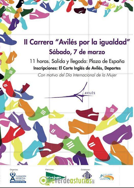 Trasplante Inflar Íncubo  II Carrera Avilés por la Igualdad 2015 | Atletismo en Avilés, Asturias