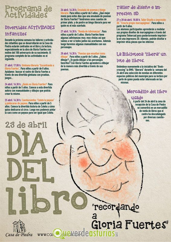 Actividades Del Día Del Libro En Ribadedeva 2017 Actividades