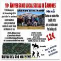 Aniversario Local Social Gamones - Ruta del Mállene