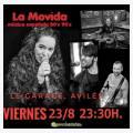 La Movida en concierto en Le Garage