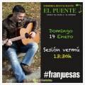 Fran Juesas en concierto en Sidrería El Puente