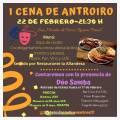 I Cena de Antroiro 2020 en San Martín de Oscos