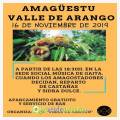 Amagüestu 2019 en el Valle de Arango