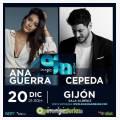 Cepeda y Ana Guerra en concierto en Gijón