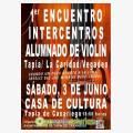 I Encuentro Intercentros Alumnado de Violín 2017