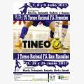 I Torneo Nacional Fútbol-Sala Base Masculino 2017 en Tineo