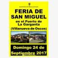 Feria de San Miguel - Villanueva de Oscos 2017