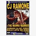 CJ Ramone + The Wana Wannas en la Lata de Zinc