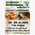 III Jornadas Gastronómicas de los Callos y los Chipirones Bañugues 2017