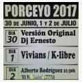 Fiestas de Porceyo 2017