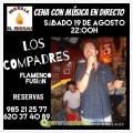 """Concierto de Los Compadres """"Flamenco Fusion"""" en Parrilla El Parrau"""