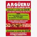 Fiesta de Las Flores Argüeru 2018