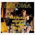Saloma en concierto en Bar Plaza