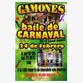 Fiesta - baile de Carnaval 2018 en Gamones