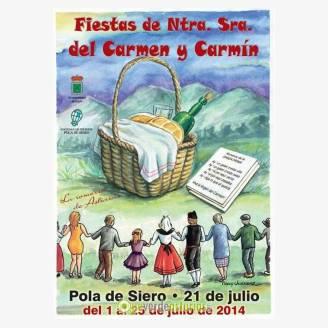 El carmen y el carm n de la pola 2014 fiestas en siero - El tiempo en siero asturias ...
