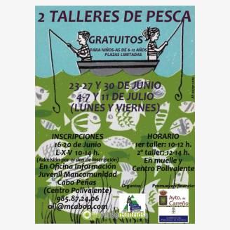 Asturias con niños:  Talleres de pesca gratuitos para niñ@s en Carreño