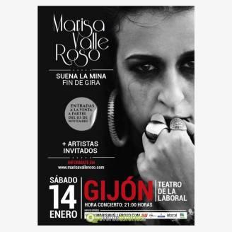 Marisa Valle Roso concierto fin de Gira en Gijón